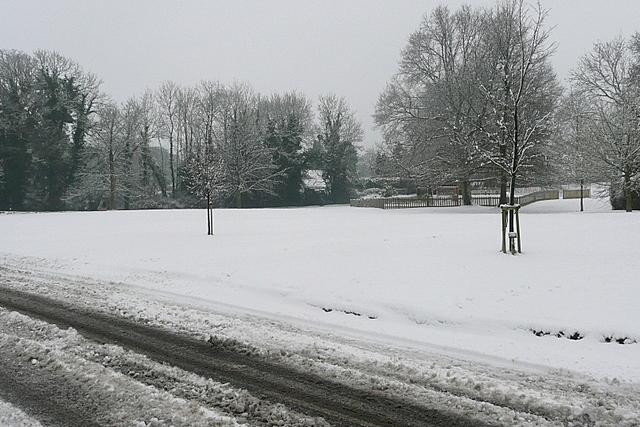 Plaistow in the snow