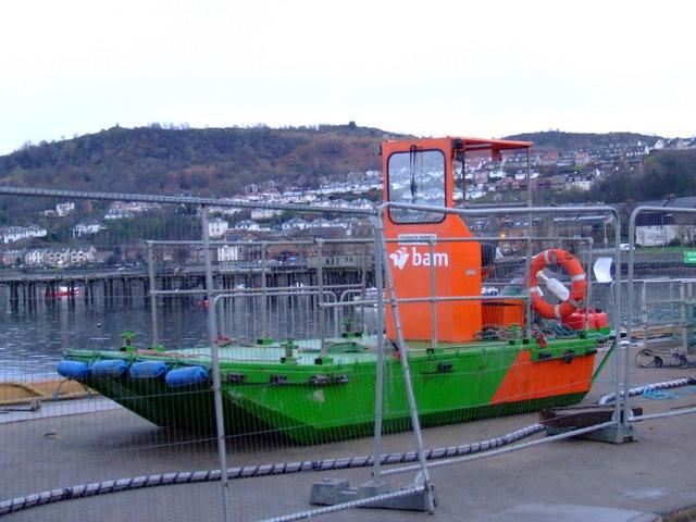 Bam Nuttall boat