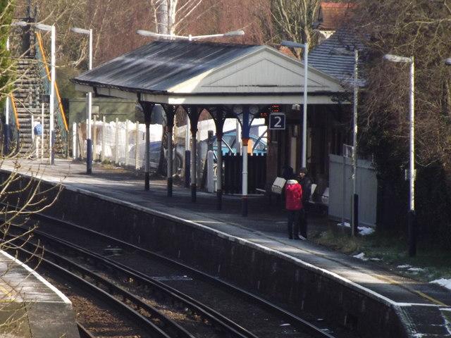 Platform 2, Bookham
