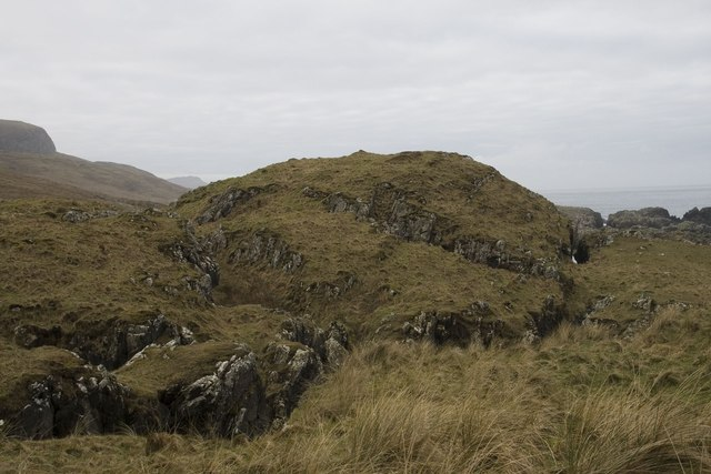 Dun south of Machir Bay, Islay