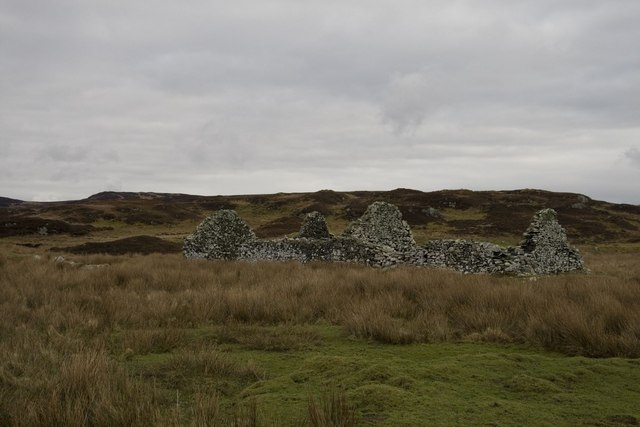 Ruin near Kilchiaran, Islay
