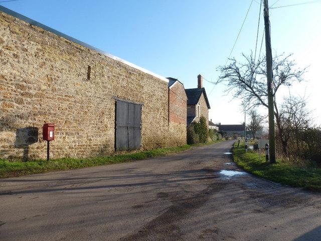 Oborne: main village lane