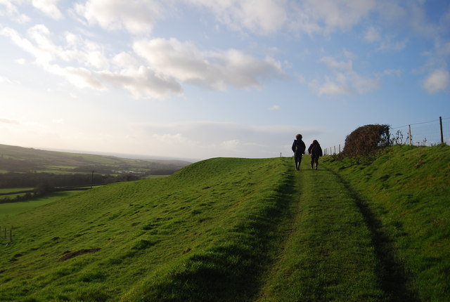 Bridleway to Chilcombe