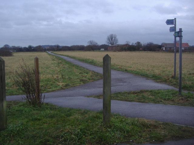 Path on South Field, Eton Wick