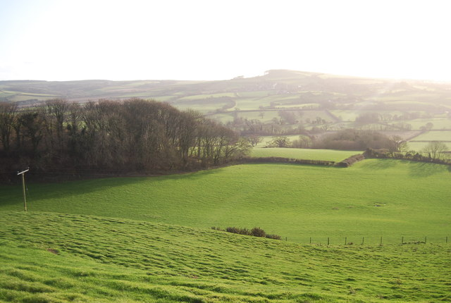 View into The Bride Valley