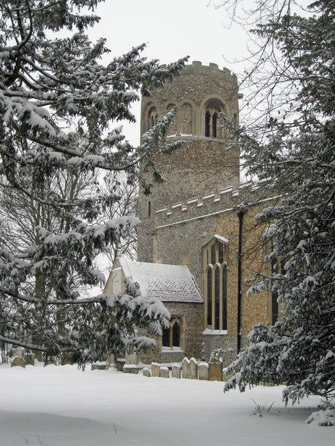 St Nicholas' Church, Little Saxham