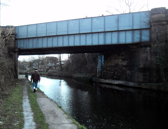 A645 road bridge crossing Knottingley canal