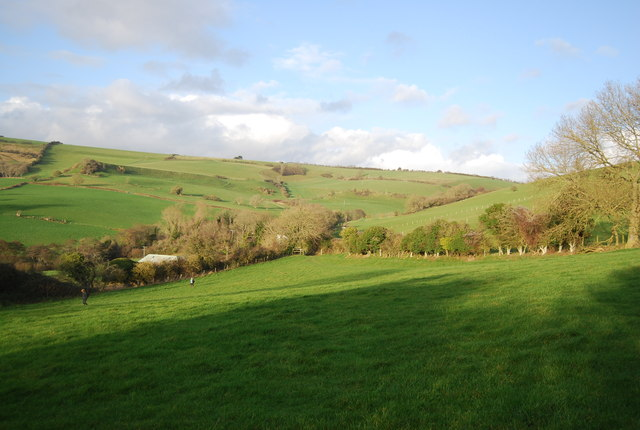 View towards Lower Coombe