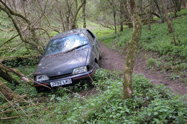Abandoned Car Breakheart Plantation 169 Philip Halling Cc