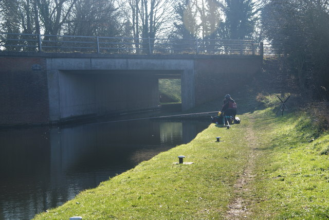 Fishing by Shutthill Bridge