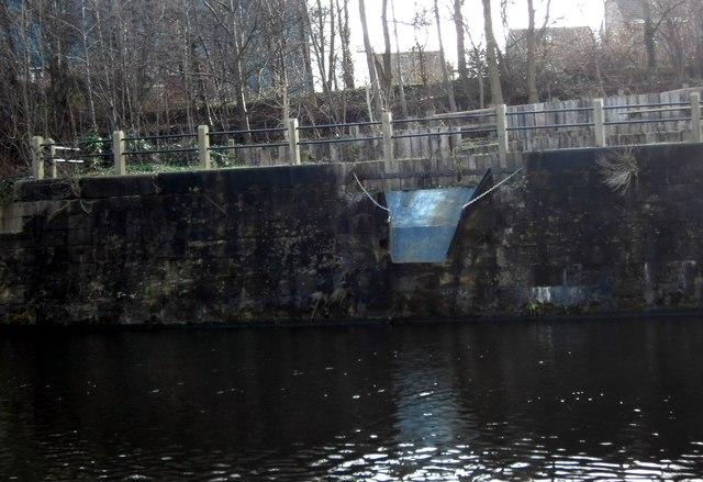 Coal loading Chute on Knottingley canal