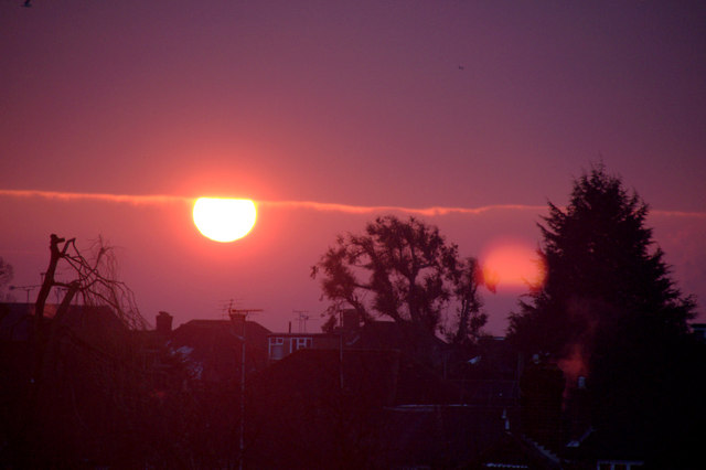 Sunrise, London N14