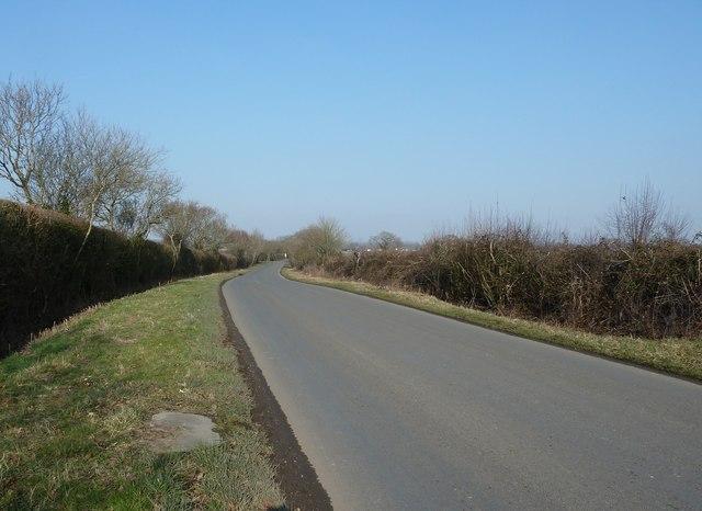 Wineham Lane north to Wineham