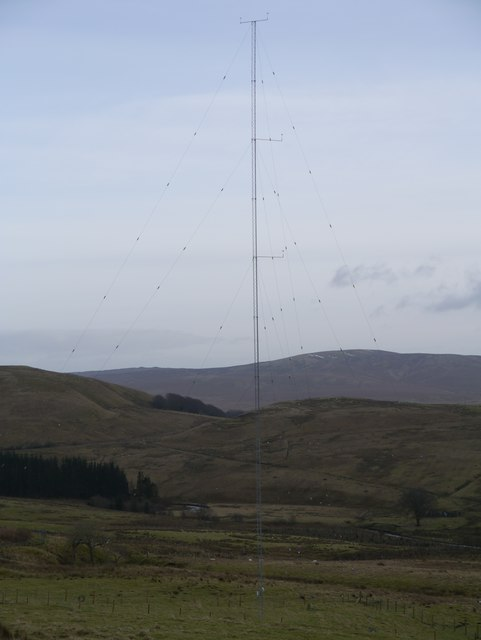 Wind Turbine Test Mast