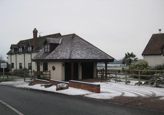 Modern House at Hanbury