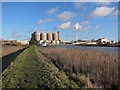 TG3803 : Cantley sugar beet refinery by Hugh Venables