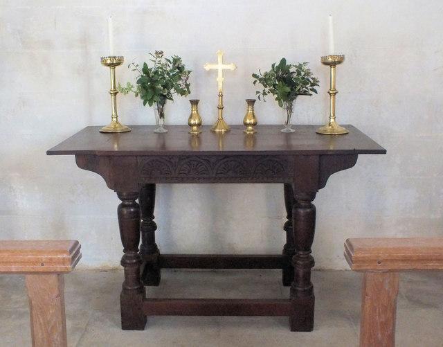 St Martin's Church- the altar