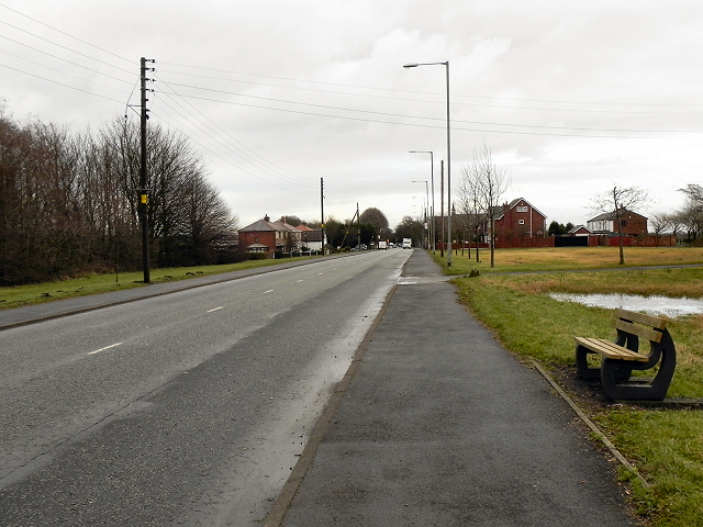 Bolton Road (B5239), Aspull Common