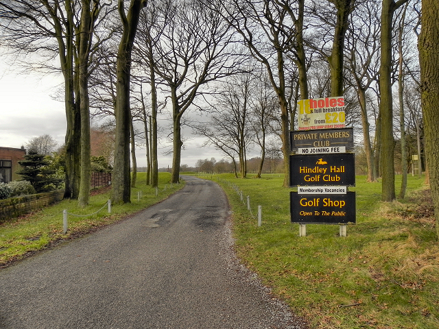 Hindley Hall Golf Course