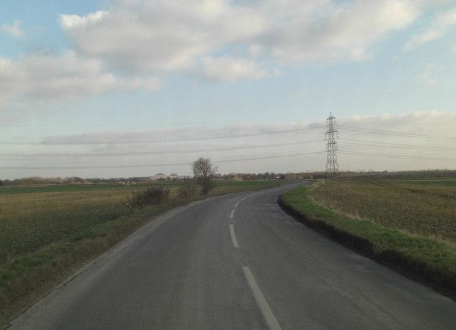 Appleford Road northeast of Sutton Courtenay