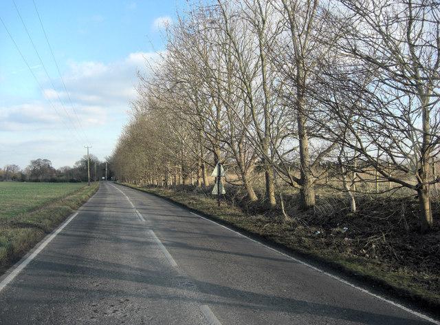 B4016 approaches Appleford