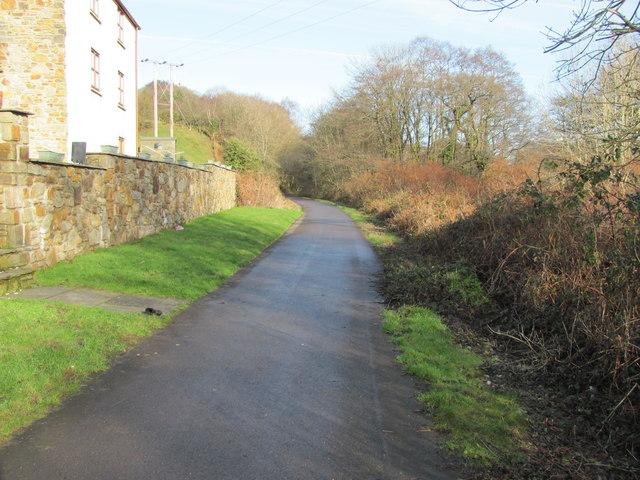 Celtic Trail heading towards Blackmill