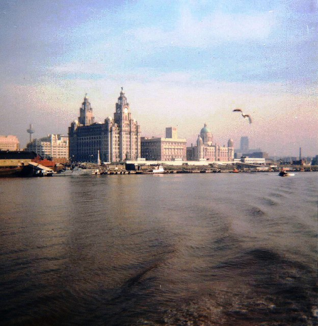 Liverpool waterfront - 1987