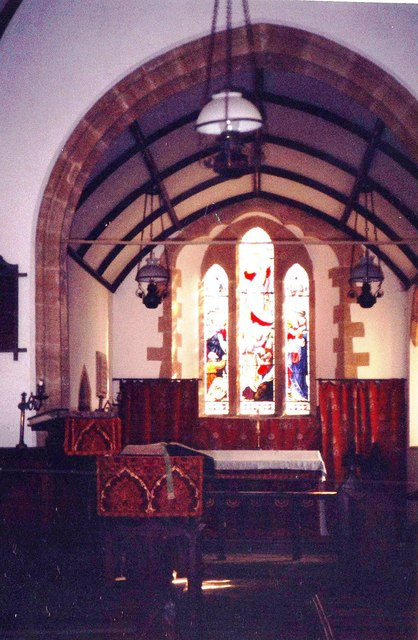Chancel, St. Mary's, Stocklinch Ottersey
