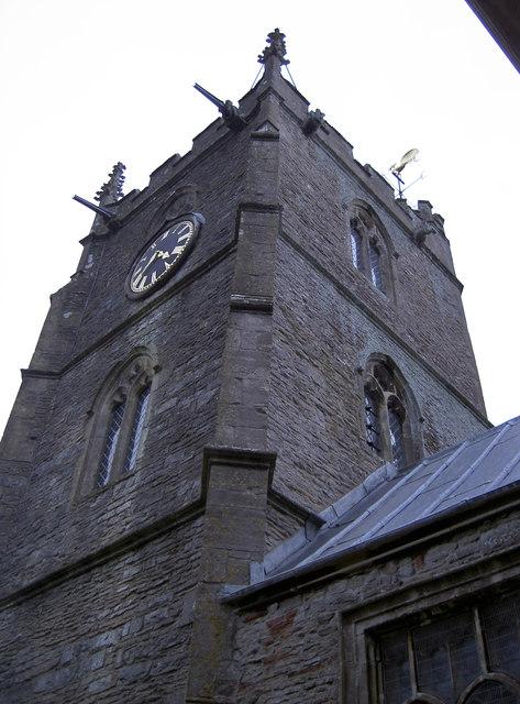 St Nicholas church tower, Brockley