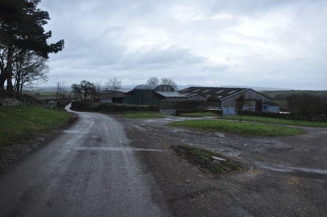 Ashbrittle : Road & Barns