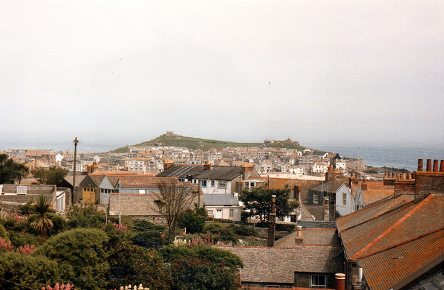 Rooftops St Ives 1986