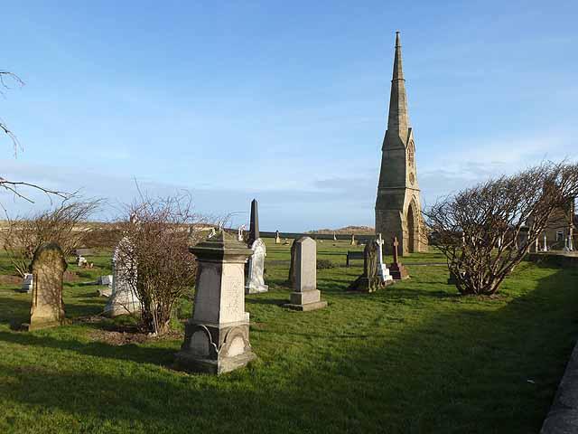 East cemetery, Amble