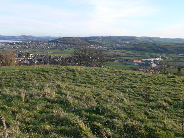 View from above Penrhyn Side