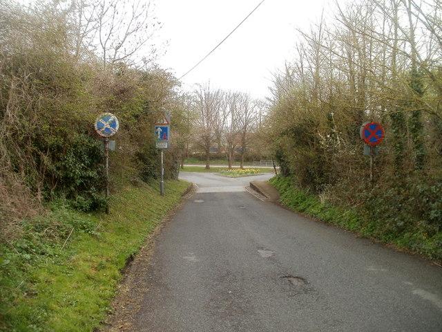 Northern end of Pound Lane, Caerwent