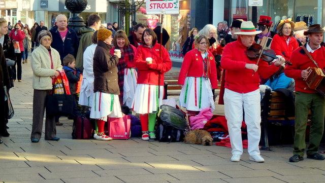 Morris dancing in Cheltenham 2