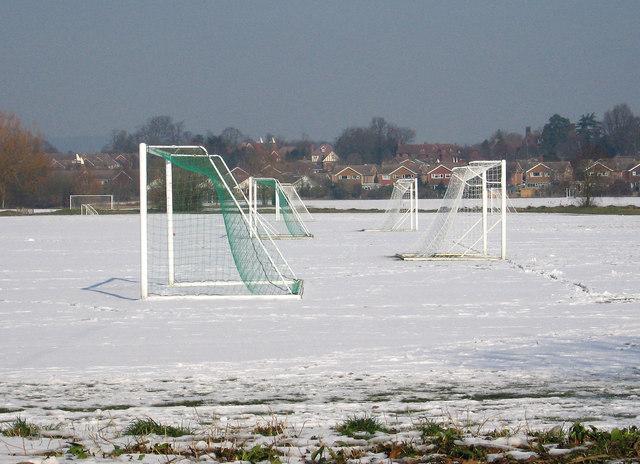 Playing Fields near Tonbridge