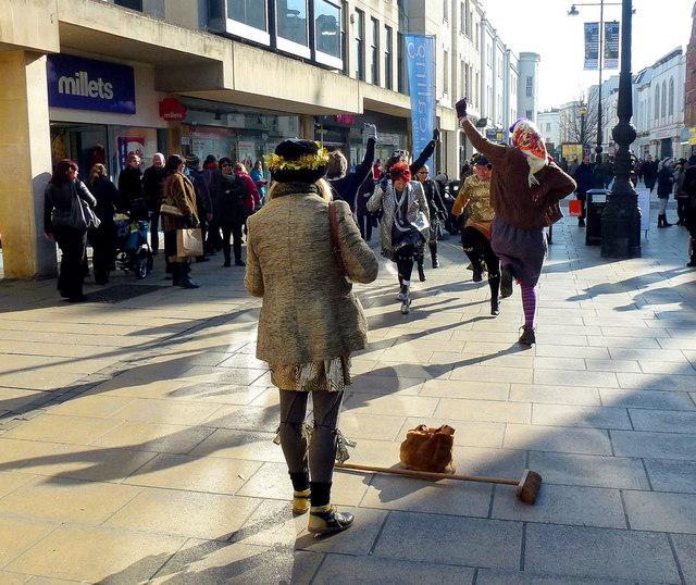 Morris dancing in Cheltenham 3