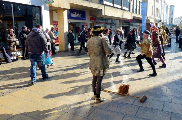 Morris dancing in Cheltenham 4