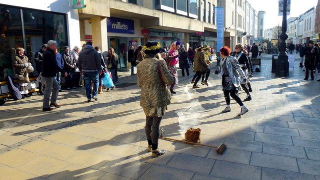Morris dancing in Cheltenham 5