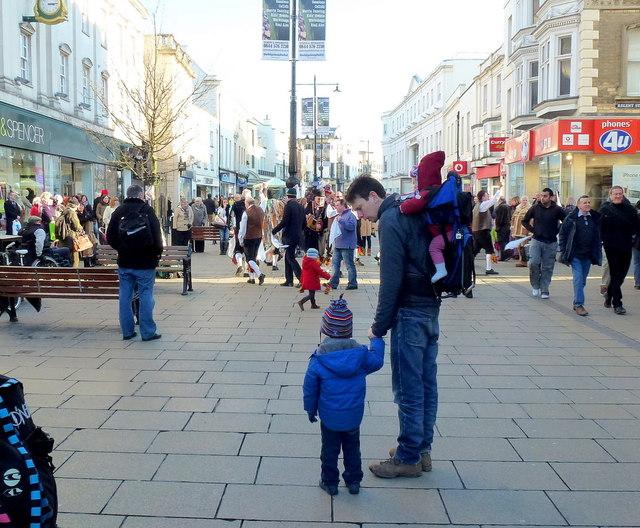 Morris dancing in Cheltenham 9