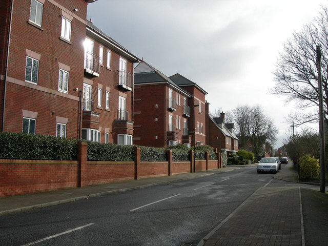 Row of new Houses