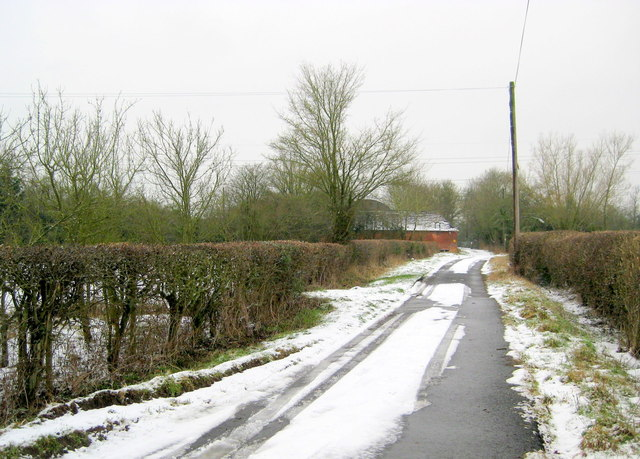 Country Lane at Fosters Green