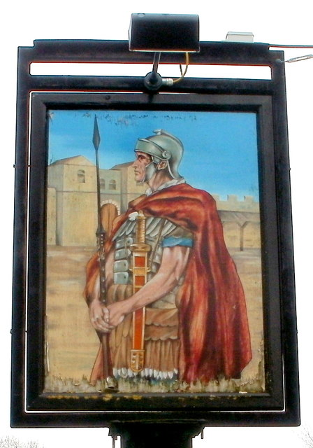 Pub sign, Northgate Inn, Caerwent