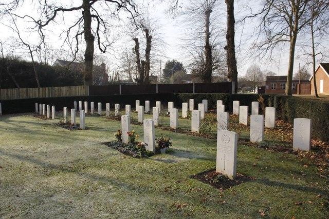Reading Commonwealth war graves