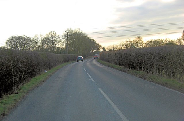 B4016 approaches the outskirts of Didcot