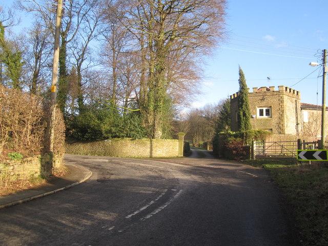 Gatehouse to Endon Hall, Bollington