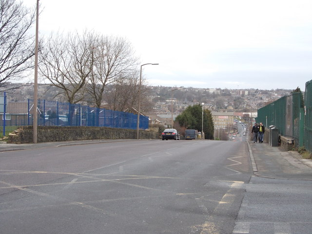 Cemetery Road - viewed from Northside Road