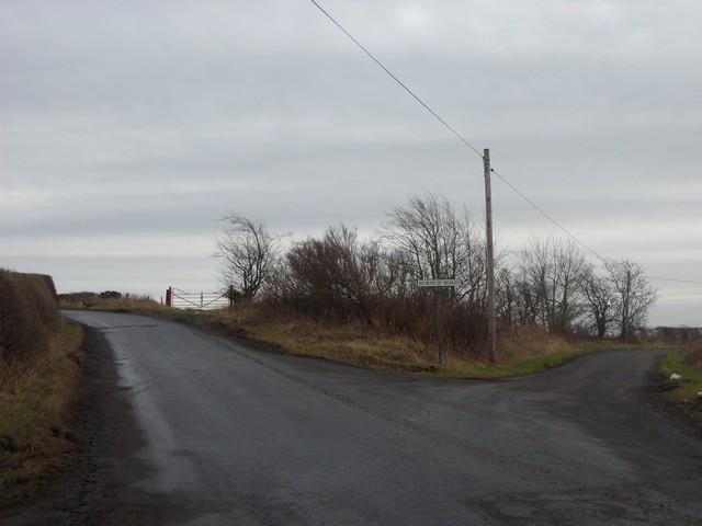 Burnlip Road at Muirdyke Road