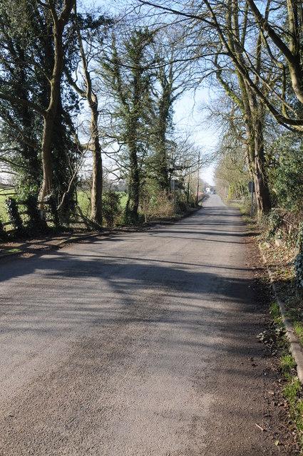 Road to Frampton on Severn