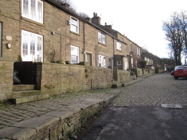 Higher Lane cottages, Kerridge